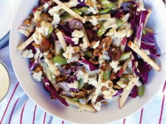waldorf salad with radicchio and blue cheese recipe